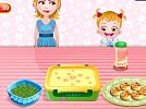 Baby Hazel Mini Pizzas