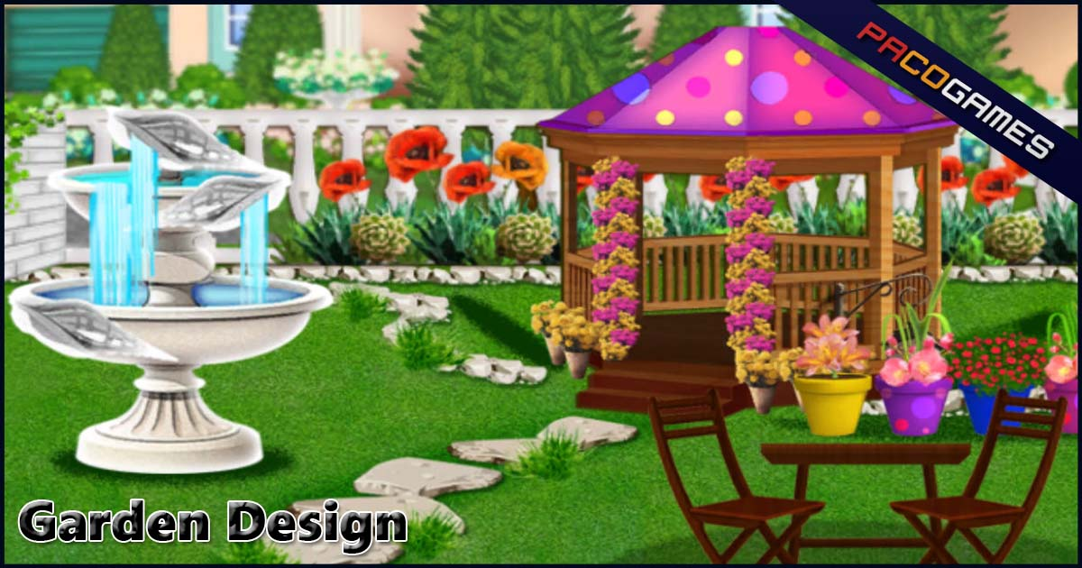 Garden Design | Play the Game for Free on PacoGames